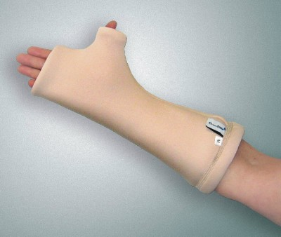 Forearm Tube With Knuckle Protector