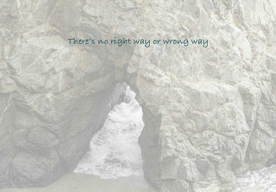 There's No Right Way (Downloadable)